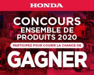 Gagner un ensemble de produits HondaSalon du bateau de Montréal