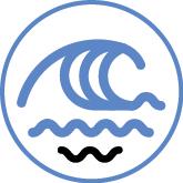 Vague responsable bateau suivez la vague