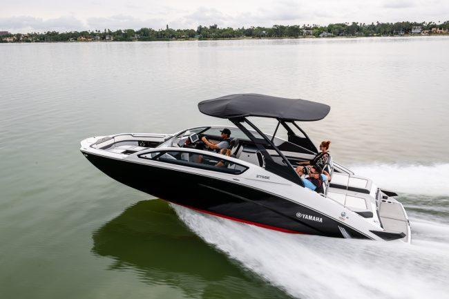 Des bateaux luxueux!