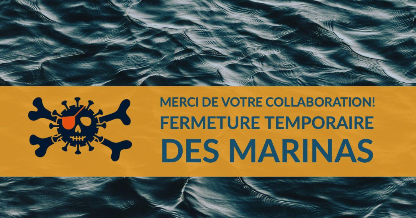 COVID-19 : <br>Nautisme Québec demande la collaboration des plaisanciers