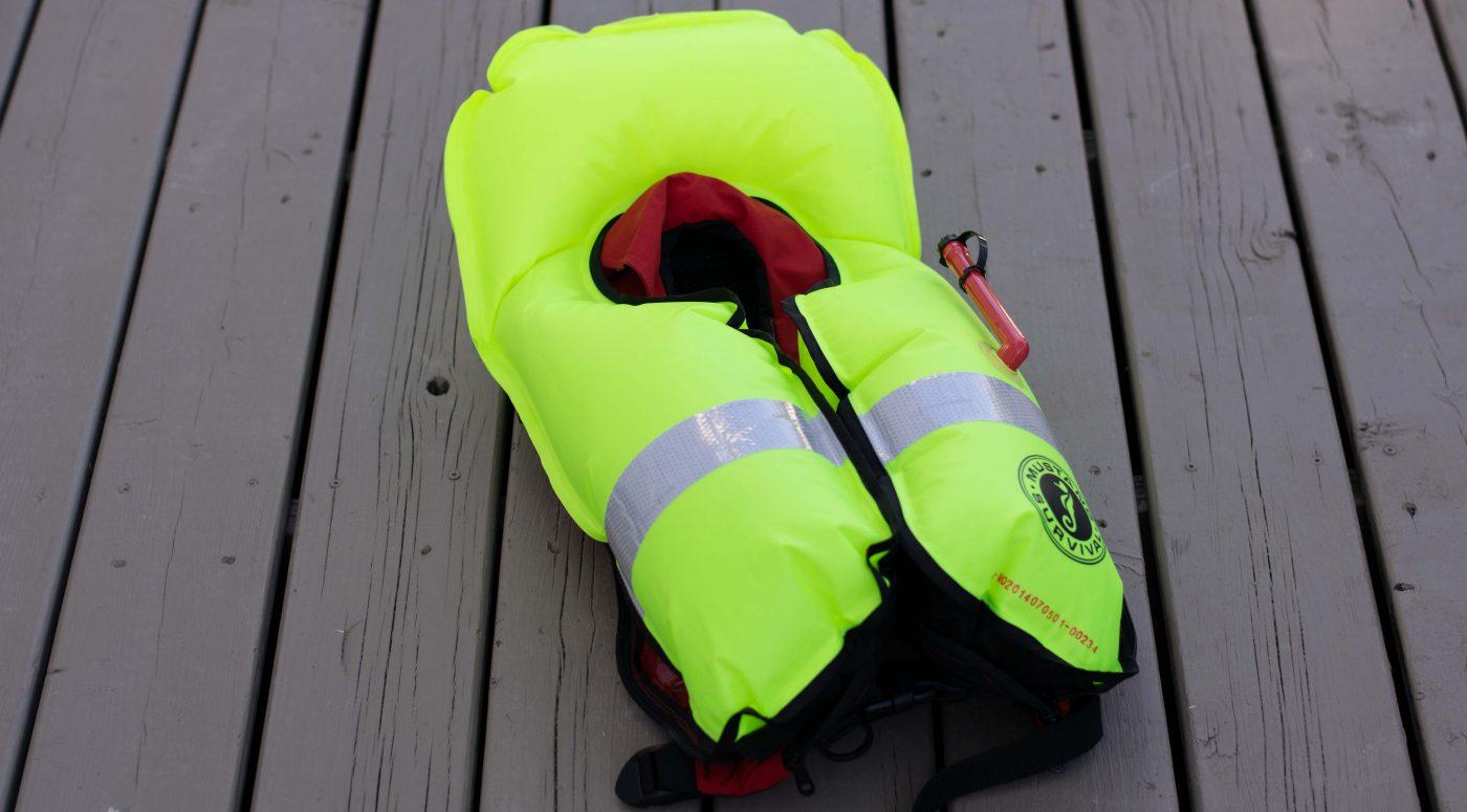 Votre veste de flottaison individuelle est-elle en bon état?