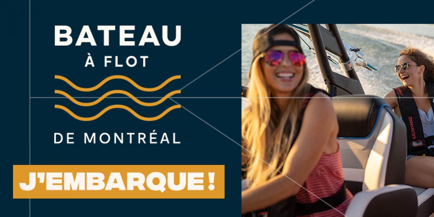 Ils seront à Québec et à <br>Montréal lors des <br>salons Bateau à flot.<br>Embarquez avec nous!